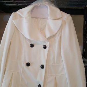 Elegant winter coat.